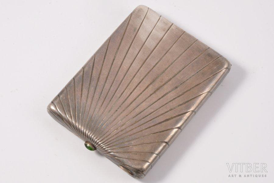 etvija, sudrabs, 830 prove, 20 gs. 30tie gadi, 190 g, Latvija, 10.5 x 7.8 x 1.5 cm, izgatavots pēc pasūtījuma