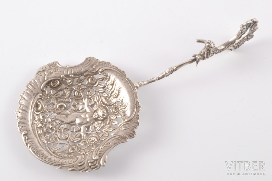 confectionery server, silver, the 19th cent., 61.75 g, Great Britain, 18 cm