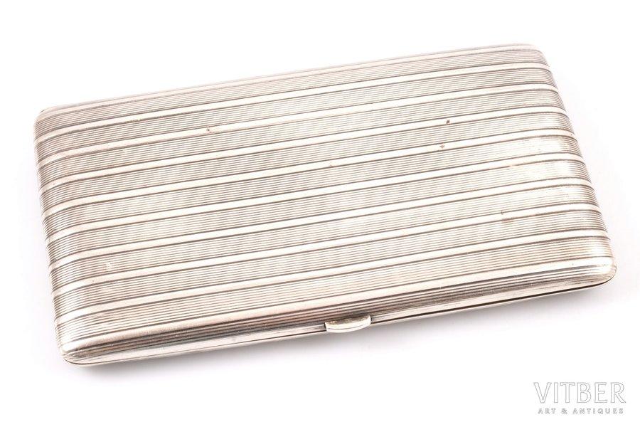 etvija, sudrabs, 950 prove, Kirby Beard & Co, apzeltījums, 179.80 g, Francija, 14.3 x 8.2 x 1.5 cm