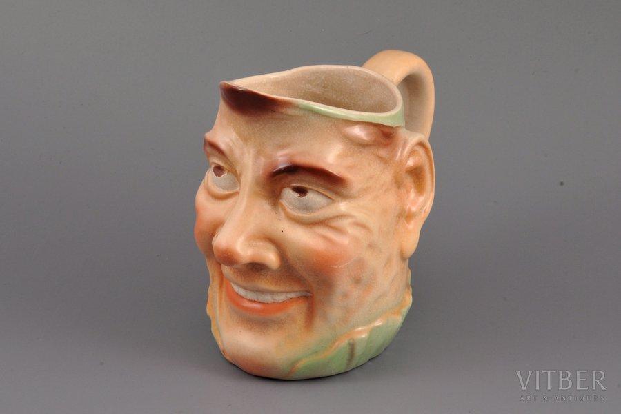 a cup, faience, M.S. Kuznetsov...