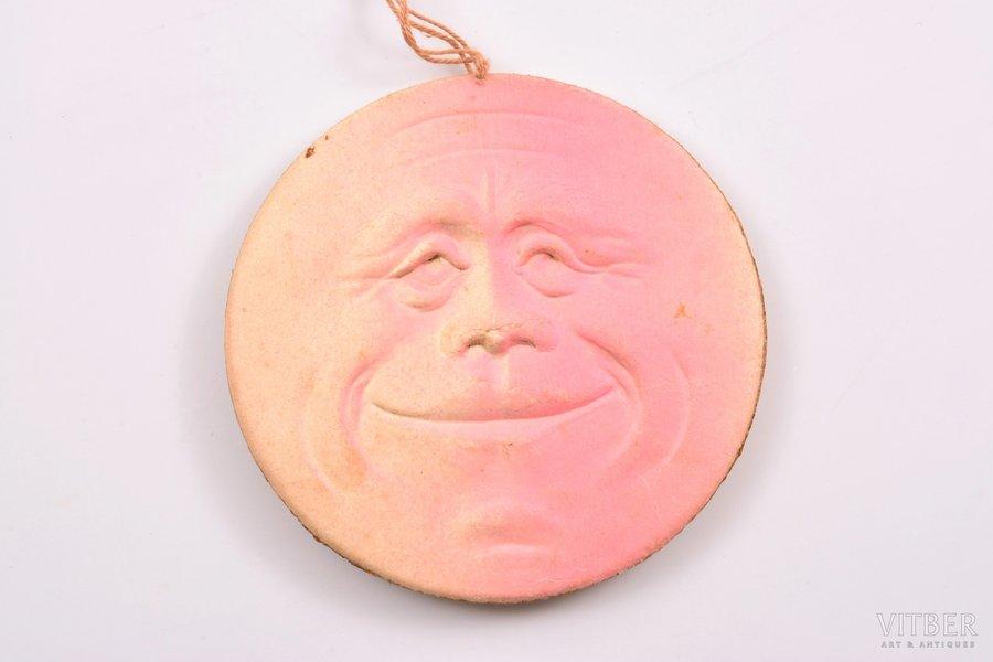елочная игрушка, Луна, 1-я половина 20-го века, Ø 7.5 см