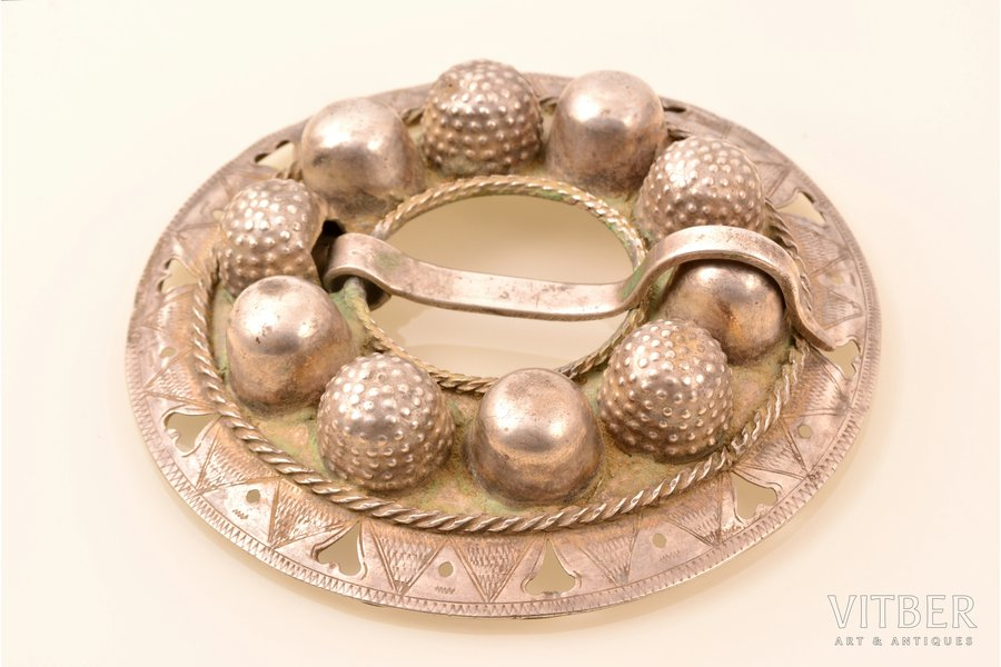 sakta, silver, 76.30 g., the item's dimensions Ø 10.1 cm, the 19th cent., the 18th cent.