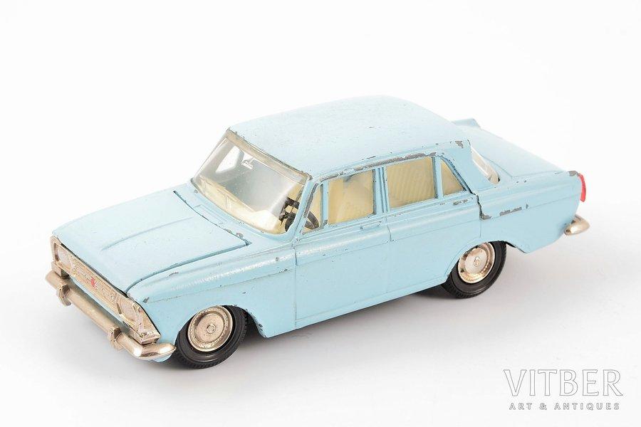 car model, Moskvich 408 Nr. А1, metal, USSR, 1984-1987