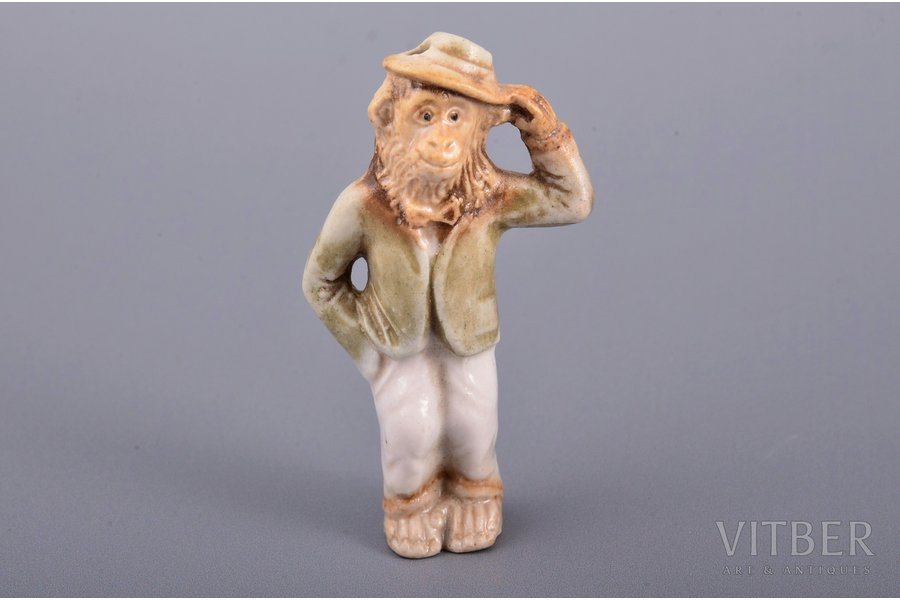 figurine, Monkey, porcelain, R...