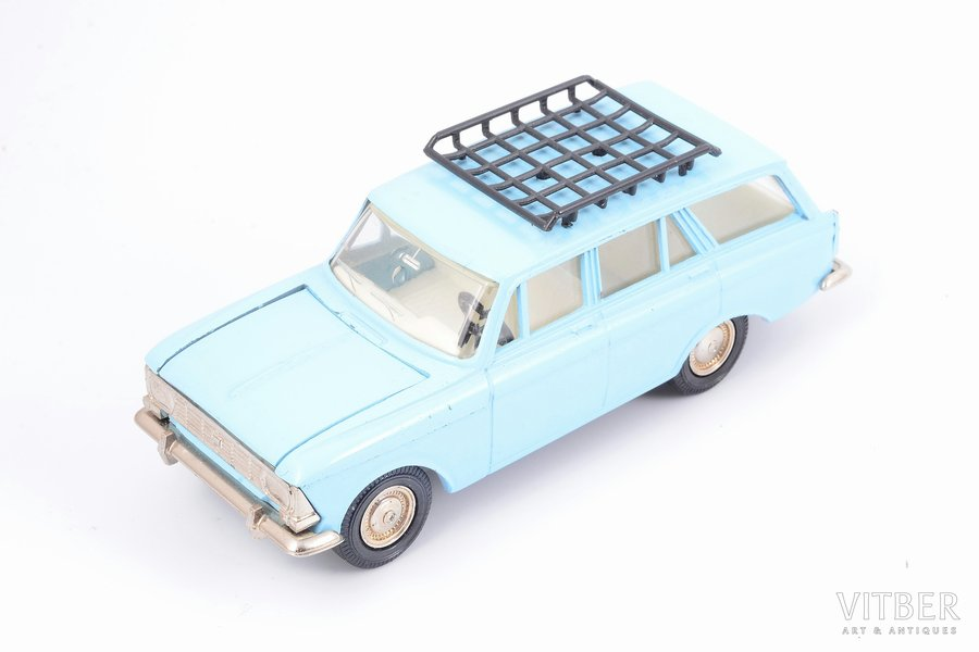 car model, Moskvitch 427, metal, USSR, 1987-1991