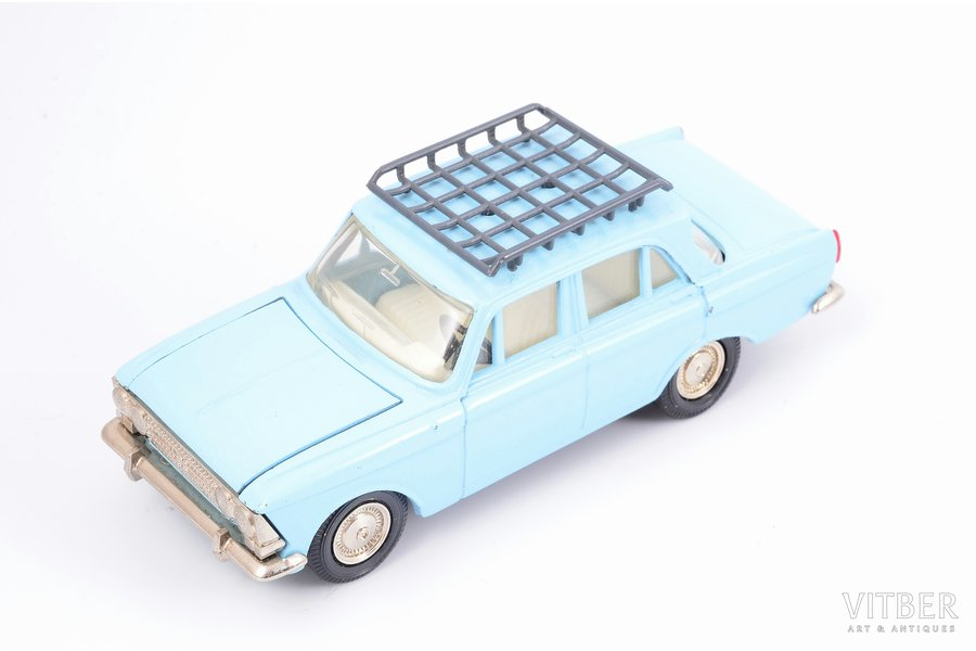 car model, Moskvitch 412, metal, USSR, 1987-1991