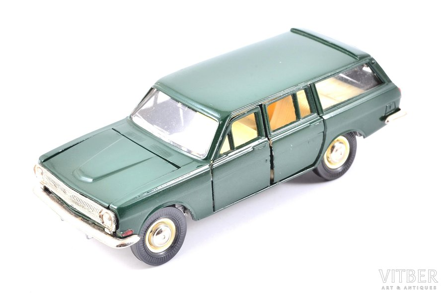 car model, GAZ 24 02 Volga Nr. A13, metal, USSR, 1983-1987