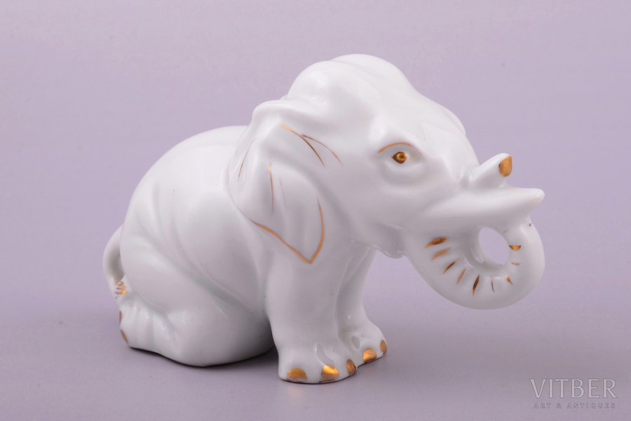 figurine, Little elephant, por...