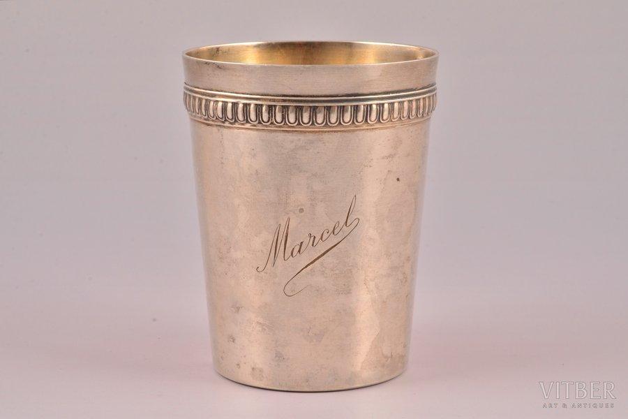 goblet, silver, 950 standart, 85.30 g, France, 8 cm