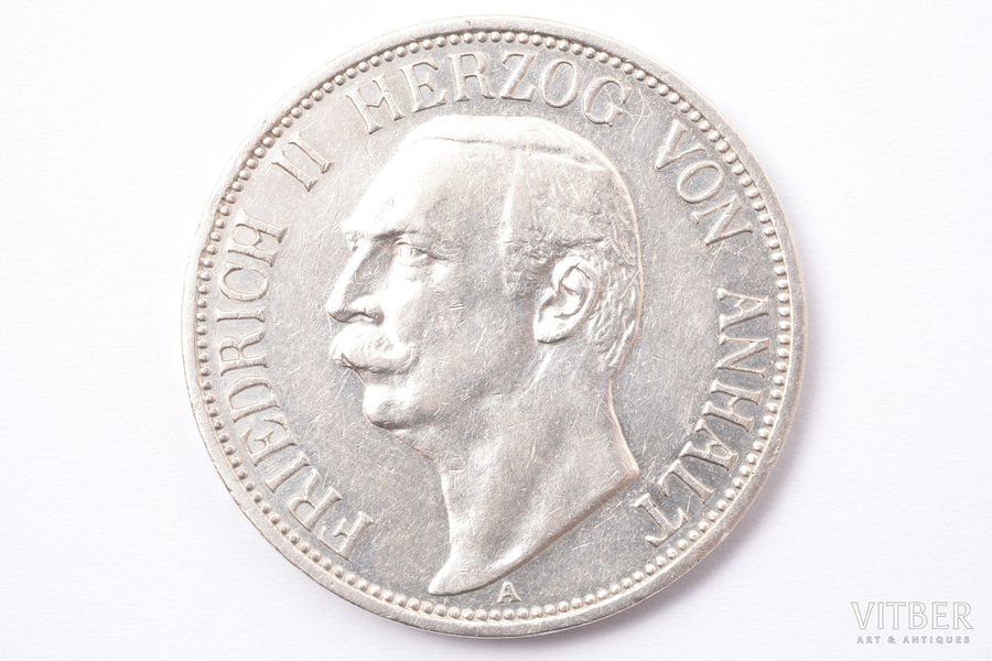 3 marks, 1911, A, silver, Germ...