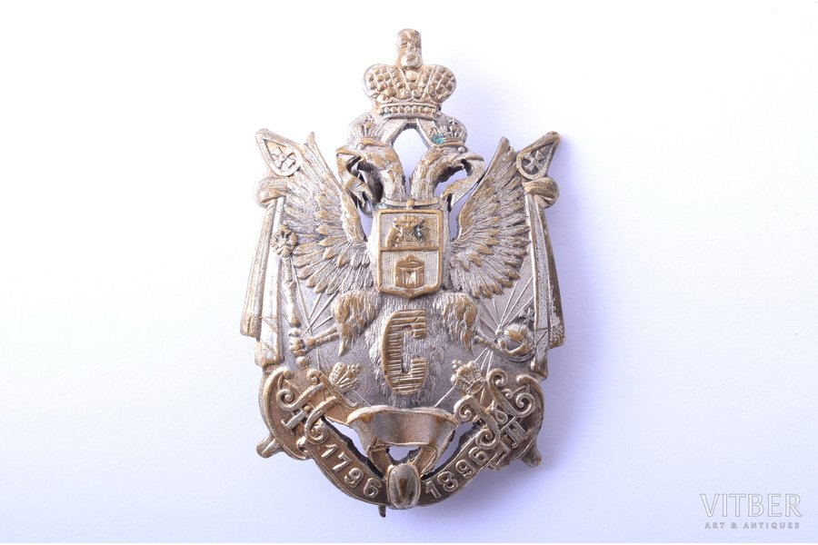 badge, Staraya Russa 113th Infantry Regiment, Russia, the border of the 19th and the 20th cent., 48 x 32 mm
