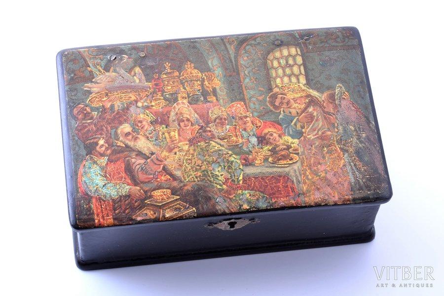 "case, ""Boyars"", Russia, 10.4 x 16 x 5.8 cm"