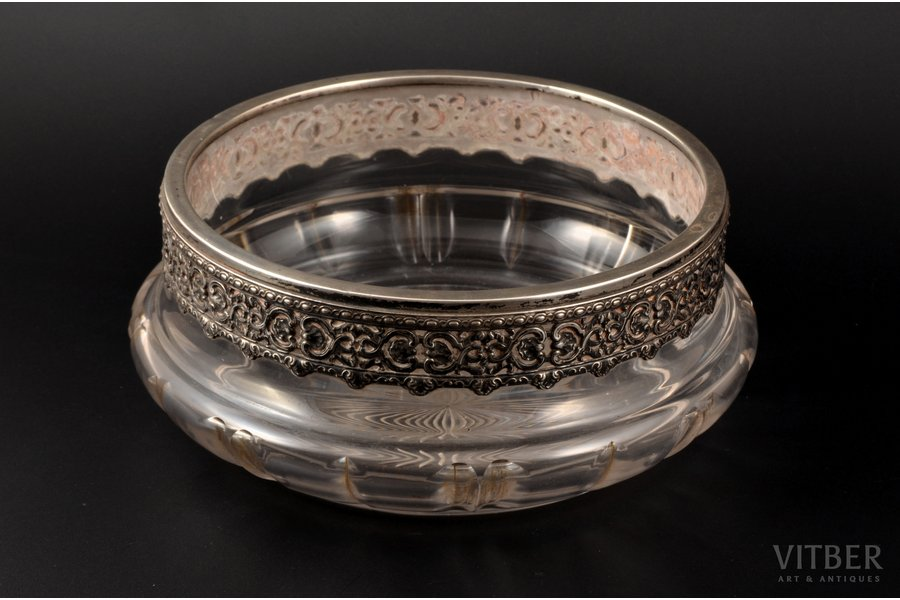 candy-bowl, silver, 950 standa...