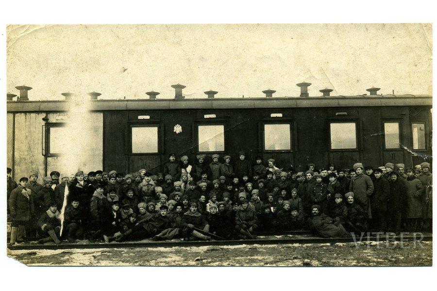 photography, soviet aviators, USSR, beginning of 20th cent., 15,8x9 cm