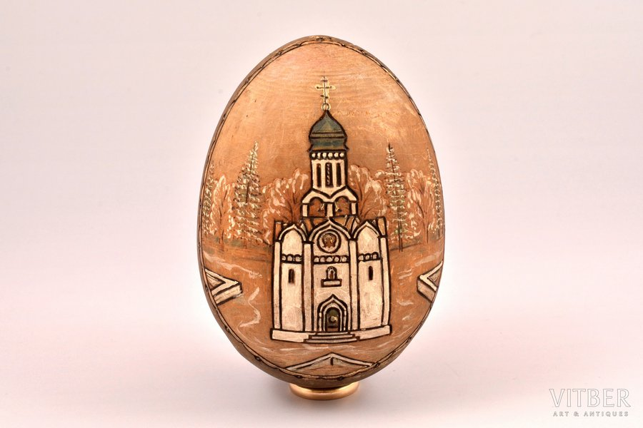 Easter egg, painting on wood,...