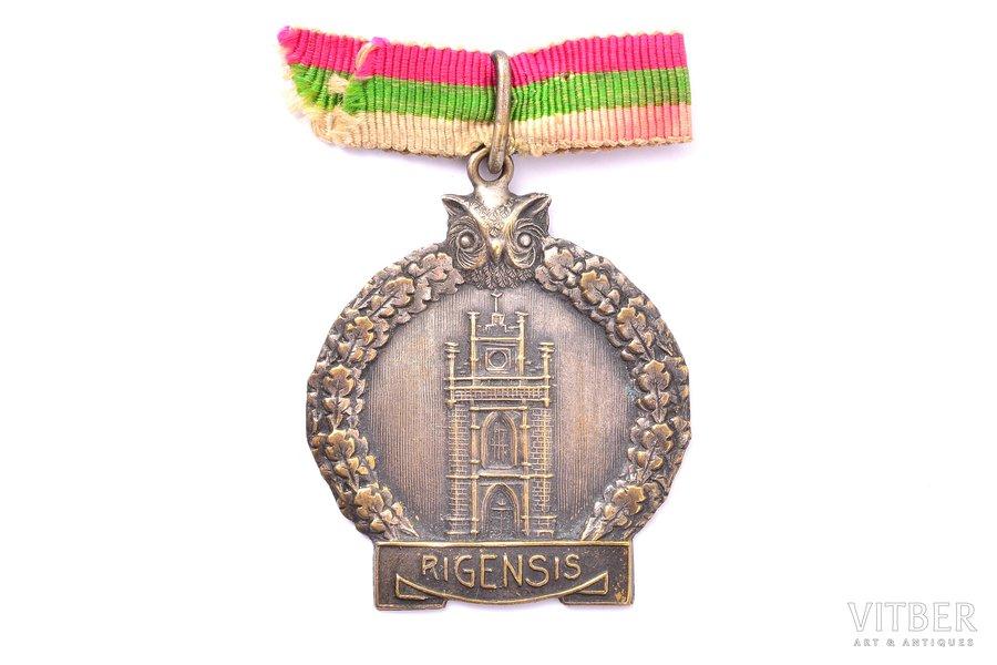 badge, corporation (?), Latvia, 45.1 x 37.8 mm