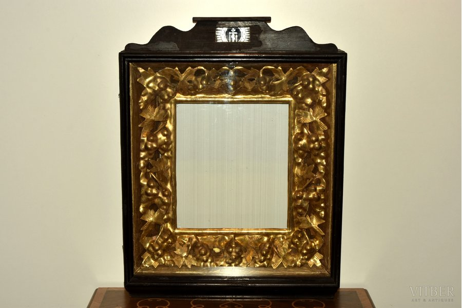 icon case, for the icon size 36 x 31.5 cm, guilding, wood, Russia, 74 x 57 x 14.5 cm