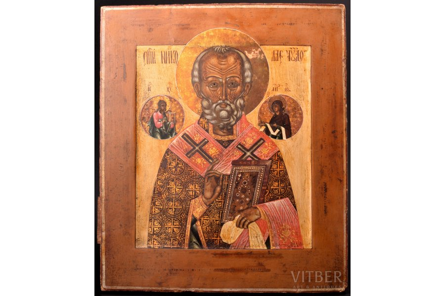 icon, Saint Nicholas the Mirac...