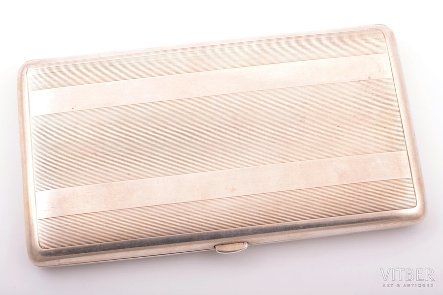 etvija, sudrabs, 950 prove, 285.35 g, Francija, 15.9 x 9.2 x 1.7 cm