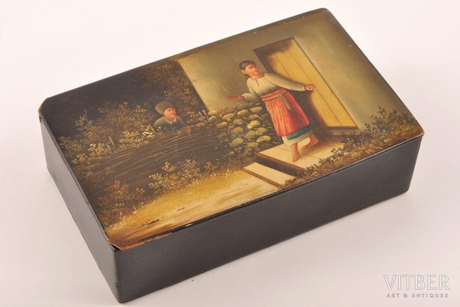 case, Vishnyakovi Manufactory, Russia, the 19th cent., 8 x 13.5 x 14 cm