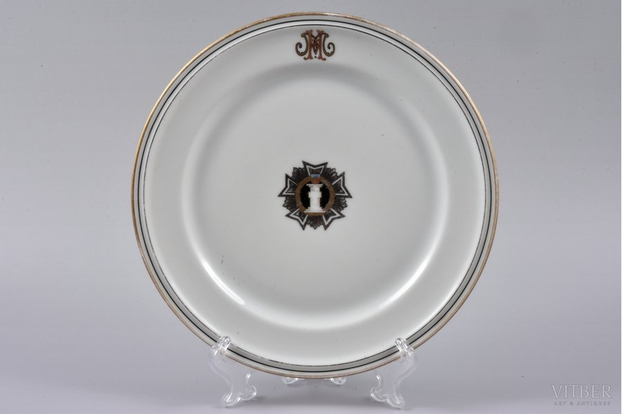 decorative plate, Military Сou...