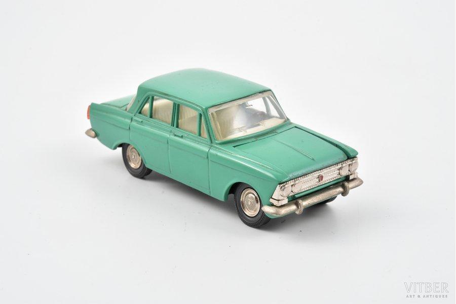 car model, Moskvich 408 Nr. А1, metal, USSR, 1980-1982