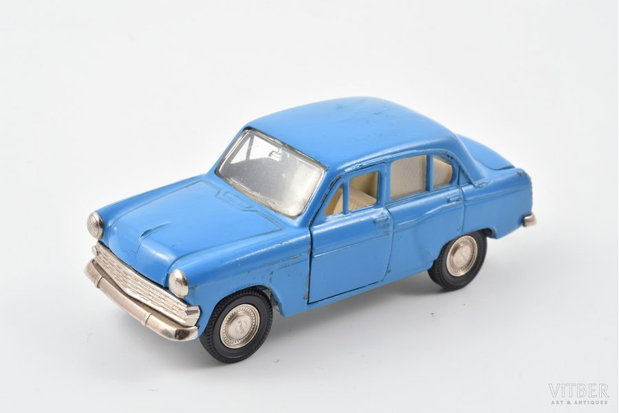 car model, Moskvitch 403 Nr. A7, metal, USSR, 1977-1978