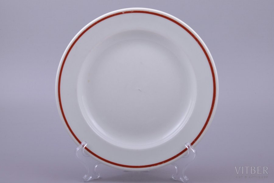 plate, Third Reich, Ø 23.1 cm, Germany, the 30-40ties of 20th cent.
