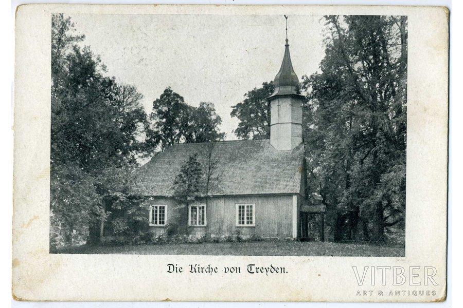 atklātne, Turaidas baznīca, Latvija, Krievijas impērija, 20. gs. sākums, 14x9,5 cm