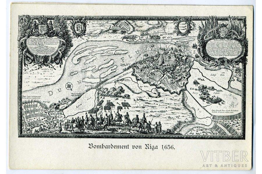 postcard, Latvia, Russia, beginning of 20th cent., 14x9,5 cm