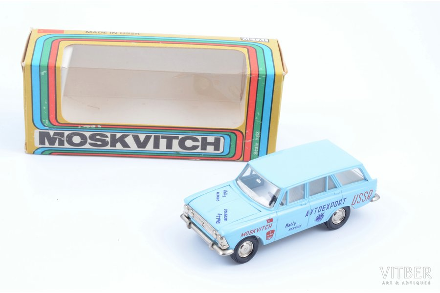 "car model, Moskvitch 427, ""Rally service"", metal, USSR, ~ 1990"
