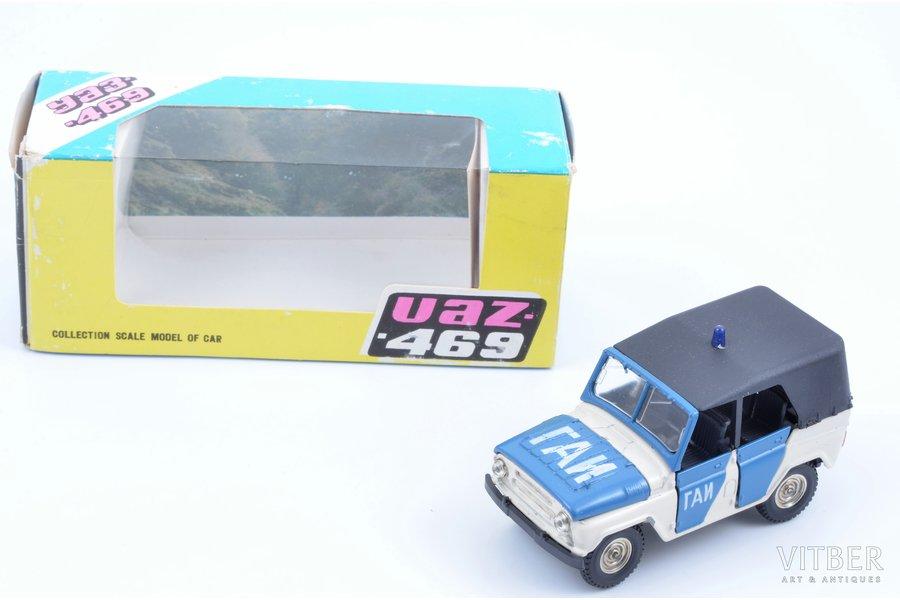 car model, UAZ 469 Nr. А34, metal, Russia, ~ 1993