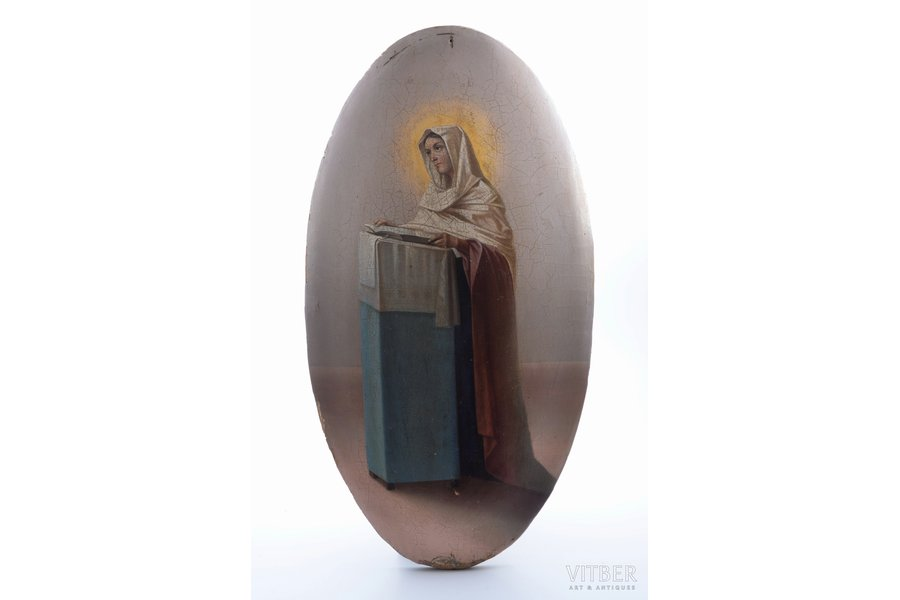 icon, Saint, board, painting, Russia, 55.5 x 29.7 x 2 cm