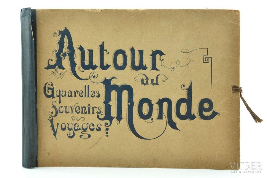"""La France en Russie"", Livraison 1-5, 7-10, edited by L. Boulanger, 24.1 x 32 cm, in a folder (damaged)"