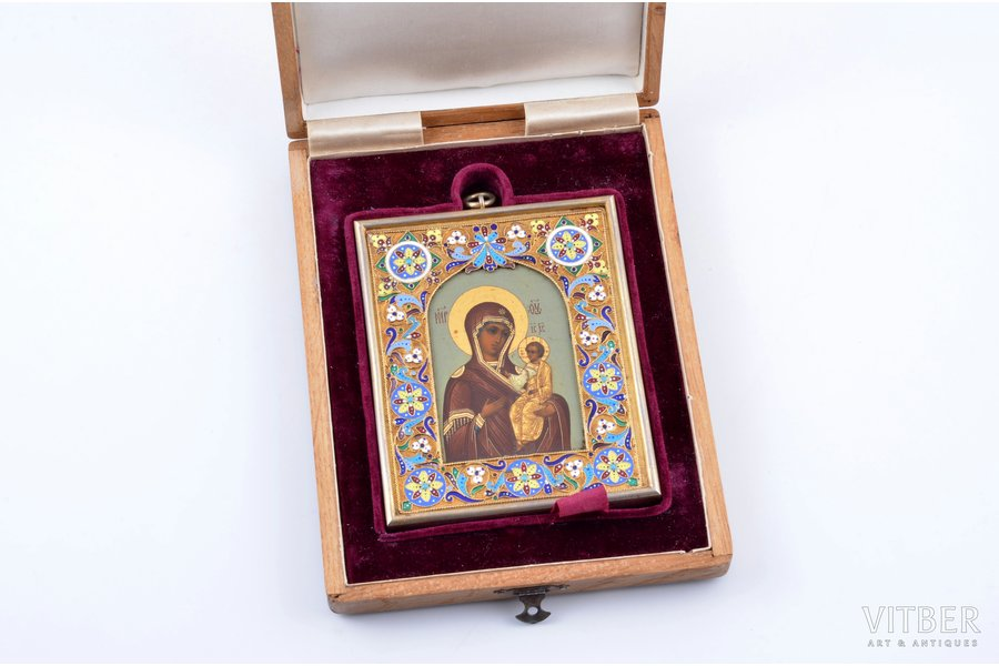 icon, the Iveron Mother of God...