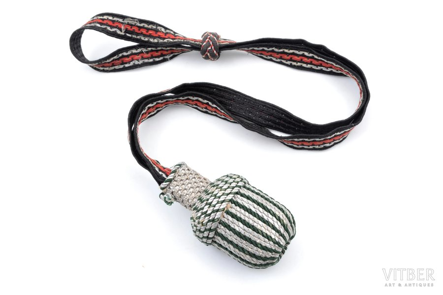 sword knot, Third Reich, 41.5 cm, Germany, the 30-40ties of 20th cent.