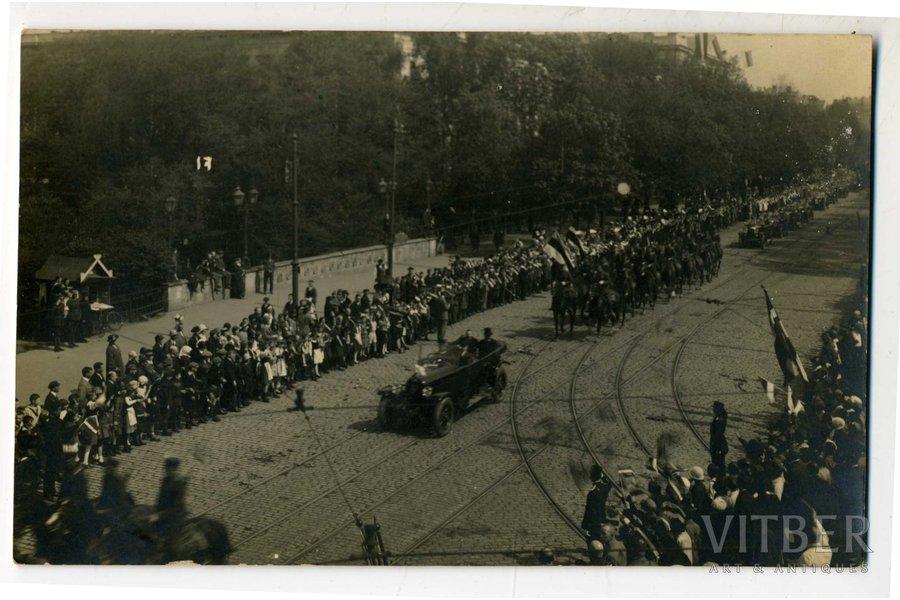postcard, Latvia, 20-30ties of 20th cent., 13,6x8,6 cm