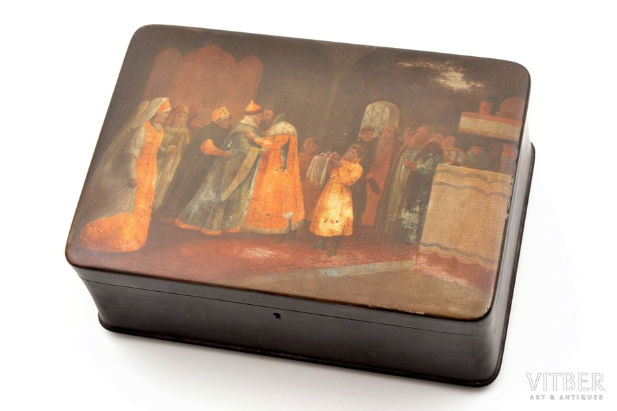 case, Vishnyakov and Sons workshop, Russia, the end of the 19th century, 16.5 x 23.8 x 9.9 cm