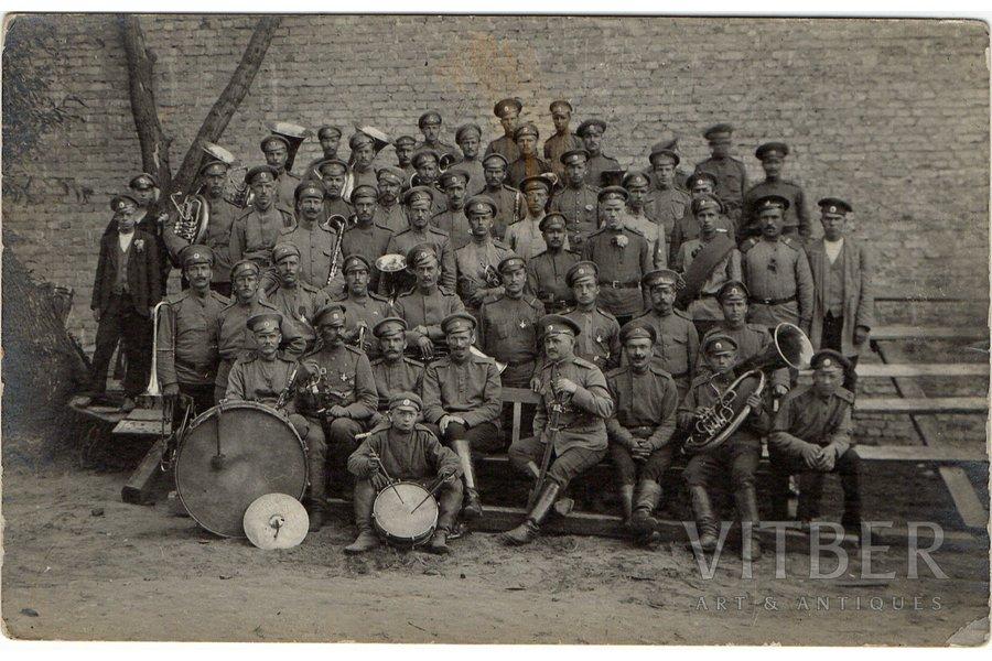 photography, forming of Latvian Riflemen battalions, Latvia, 8.7 х13.7 cm