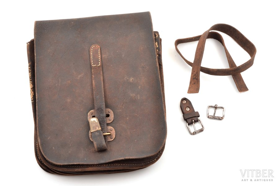 officer's map case, World War II, 25 x 19 cm, Germany, the 30-40ties of 20th cent.