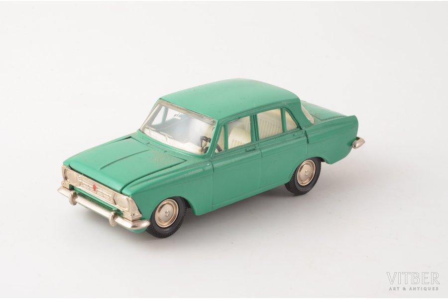 car model, Moskvitch 412 Nr. A2, metal, USSR, 1984-1988