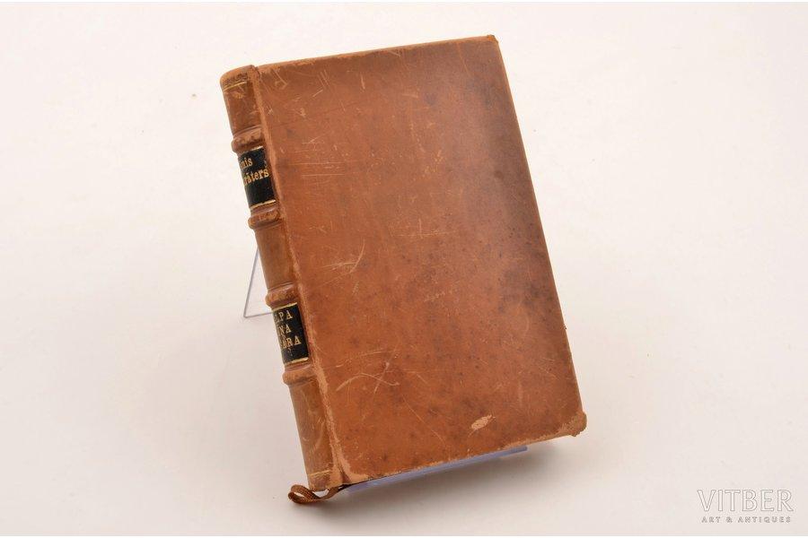 """Jānis Akurāters, """"Kalpa zēna vasara"""", AUTOGRAPH, eksemplārs Nr. XIII no 28 iespiestiem uz rokas lējuma vergē papīra, Jāņa Akurātera atmiņu zīmējums, Jāņa Plēpja garvējumi kokā,, 1936, Zelta ābele, Riga, 171 pages, leather binding, 13.5х9 cm"""