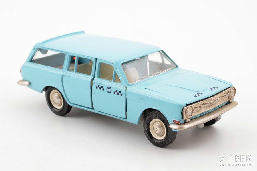 """car model, GAZ 24 02 Volga, """"Taxi"""", metal, USSR"""