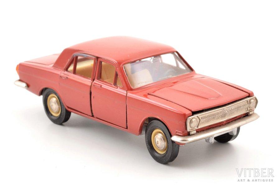 car model, GAZ 24 Volga Nr. A14, metal, USSR