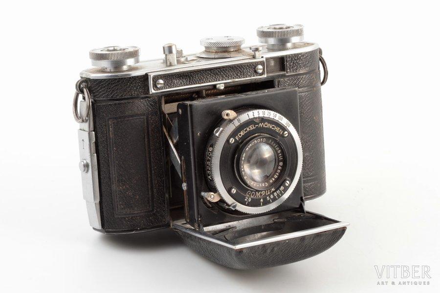 photo camera, Certo Dollina, Germany, 12.1 x 8.2 x 4.6 cm