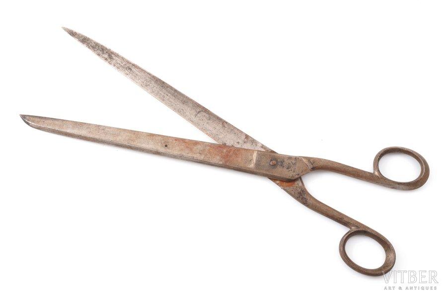 scissors, Kondratov's factory, Vachi village, Russia, the 2nd half of the 19th cent., 29.2 cm