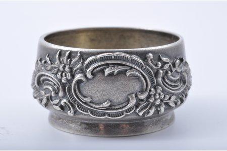 saltcellar, silver, 84 standart, 1896-1907, 32.30 g, Moscow, Russia, h 21.7, ∅ 4.2 cm