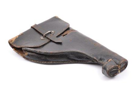 кобура, для ракетного пистолета, Вторая мировая война, 30 x 18.5 x 3.7 см, Германия, 30-40е годы 20го века