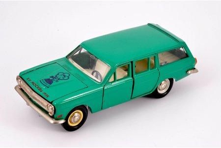 """auto modelis, GAZ 24 02 Volga Nr. A13, """"Katjuša"""" (1985 g. festivāls), metāls, PSRS, 1985 g."""
