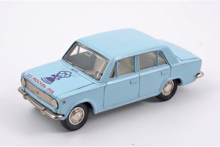 """auto modelis, VAZ 2101 Nr. A9, """"Katjuša"""" (1985 g. festivāls), metāls, PSRS, 1985 g."""
